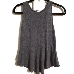 "Aritzia ""Wilfred "" gray tank top"